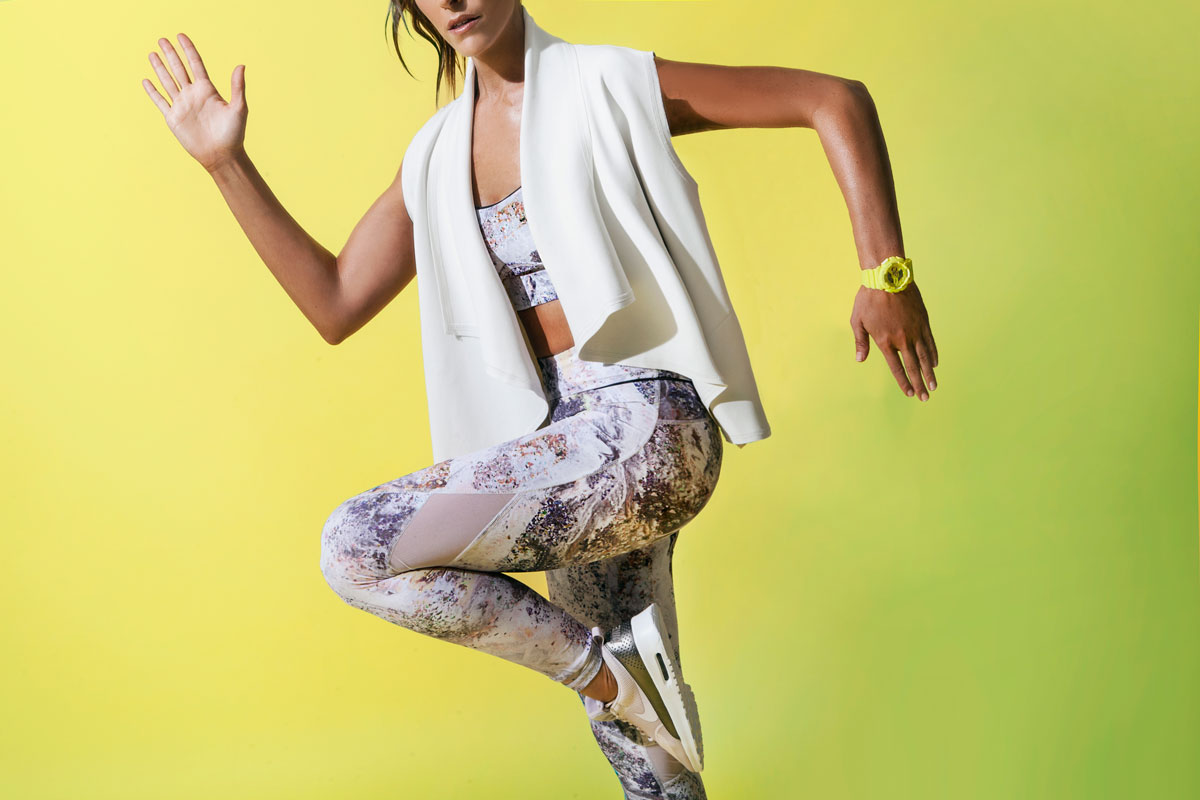 Jeni DelPozo is a fitness instructor based in Los Angeles